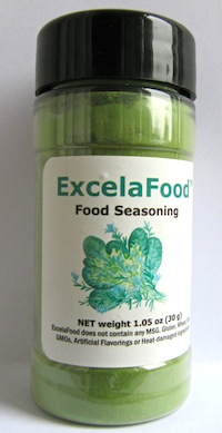 ExcelaFood microbiome nourishment